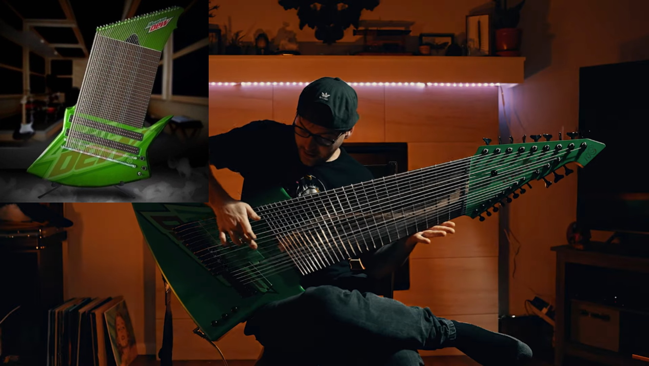 Mountain Dew Meme Guitar Is Real