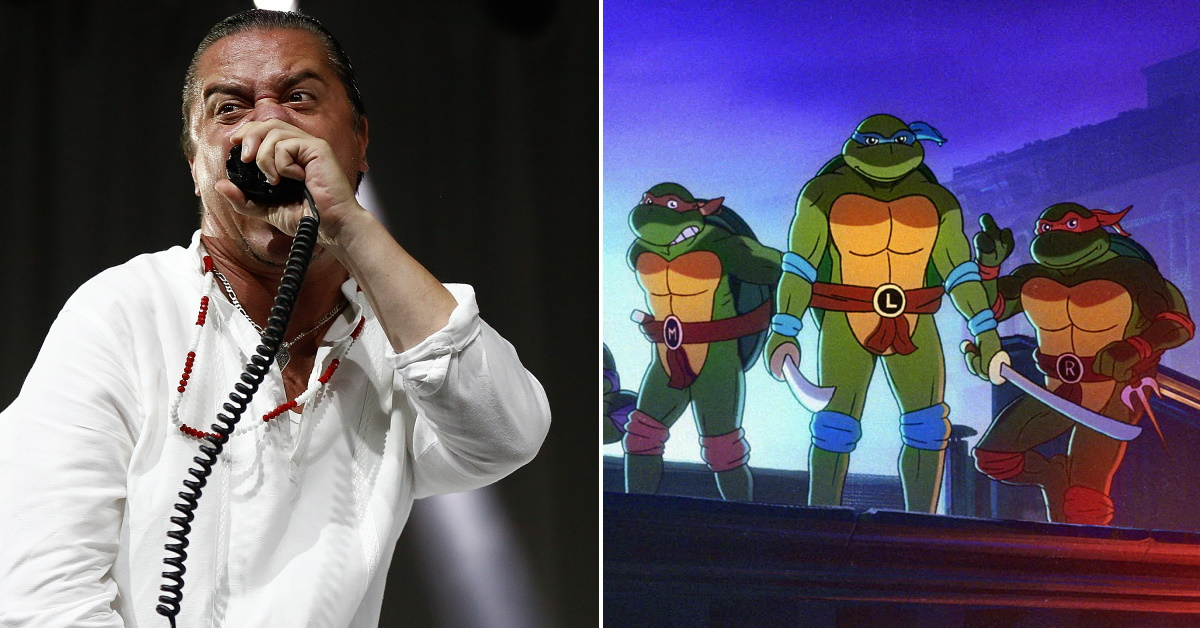 Mike Patton sings TMNT Theme For Upcoming Video Game