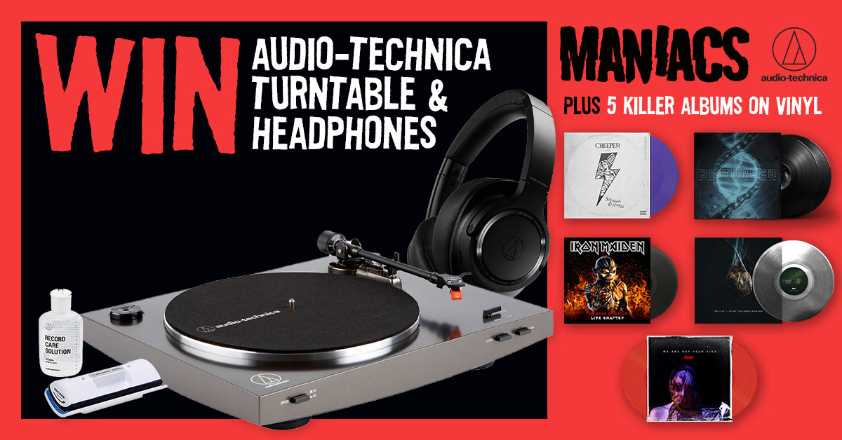 Maniacs audio technica giveaway
