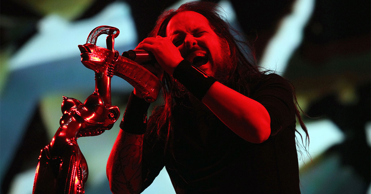 Interview: Korn Frontman Jonathan Davis Talks New Album 'The Nothing'.