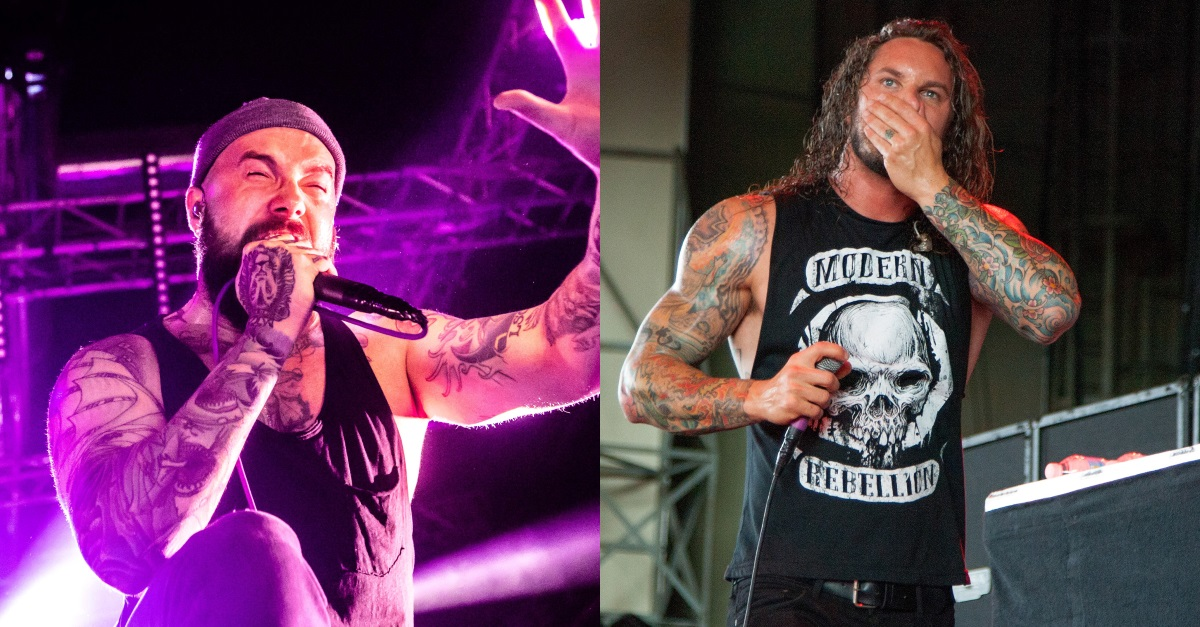 Watch August Burns Red's Jake Luhrs Join As I Lay Dying on Stage For 'Redefined'