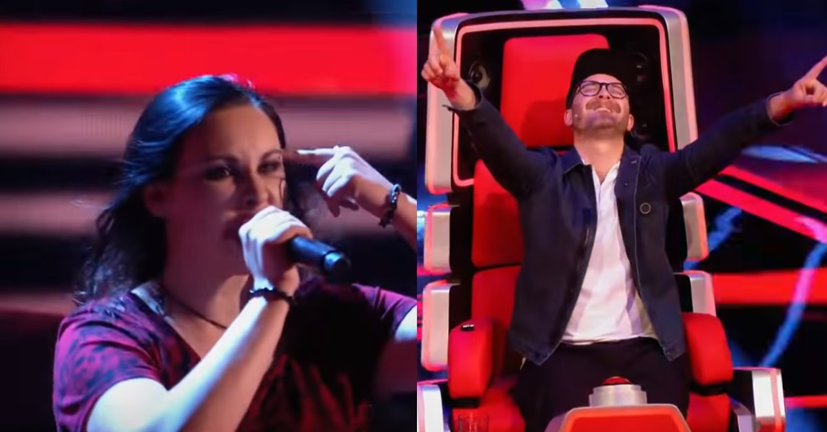 Watch This Woman Cover Lamb Of God on The Voice Germany
