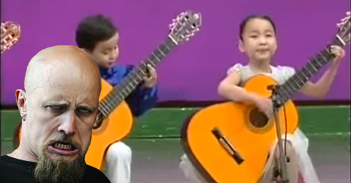 This Classic Video of Korean Kids 'Playing' Meshuggah is Hilarious