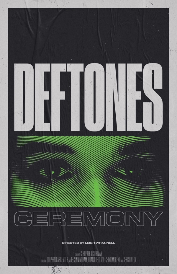 deftones movie poster ceremony