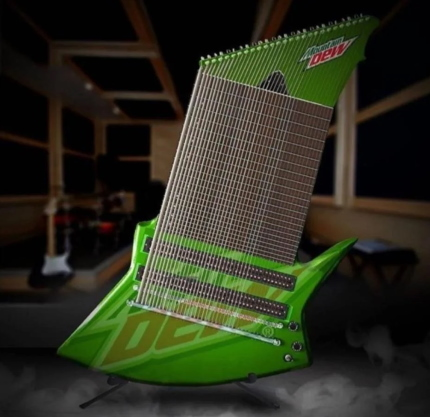 Mountain dew meme guitar
