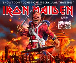 Maniacs Pre-Sale: Get Tickets to Iron Maiden's Legacy of the Beast Australian Tour.