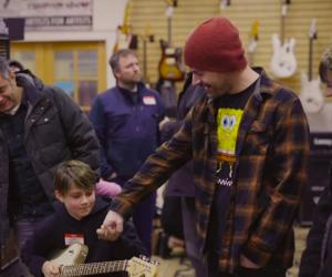 Jared Dines Raises $80,000 For Kids At Music Store