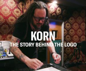 Watch Jonathan Davis Explain Korn Logo Creation