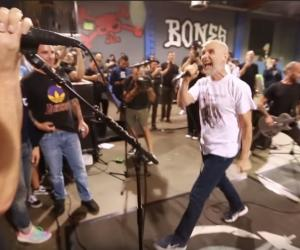 Watch Moby Perform a Minor Threat Cover with Rise Against at a Skatepark